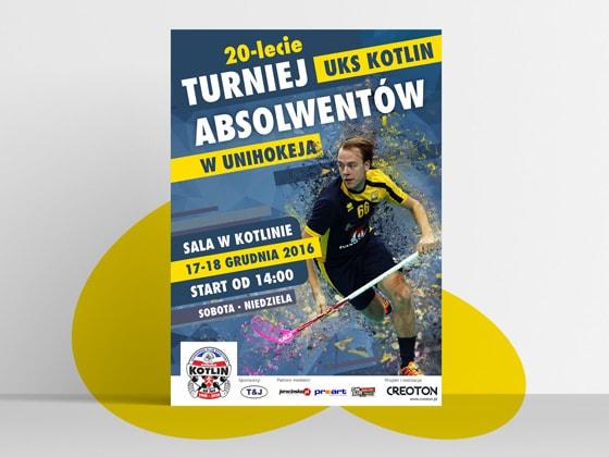 Plakat turniej unihokeja